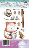 Stempel NUTS ABOUT YOU WOODLAND FOX lis 11 szt.