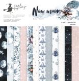 Bloczek papierów New moon 30x30cm