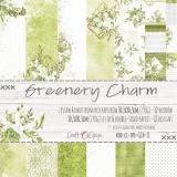 GREENERY CHARM- zestaw papierów 30,5x30,5cm